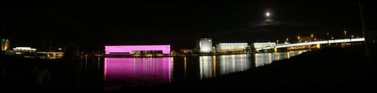 Panorama-Ansicht von der ARS-Electronica