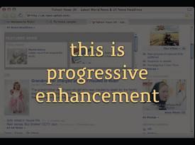 beispiel aus graded-browser-support-and-progressive-enhancement.pdf