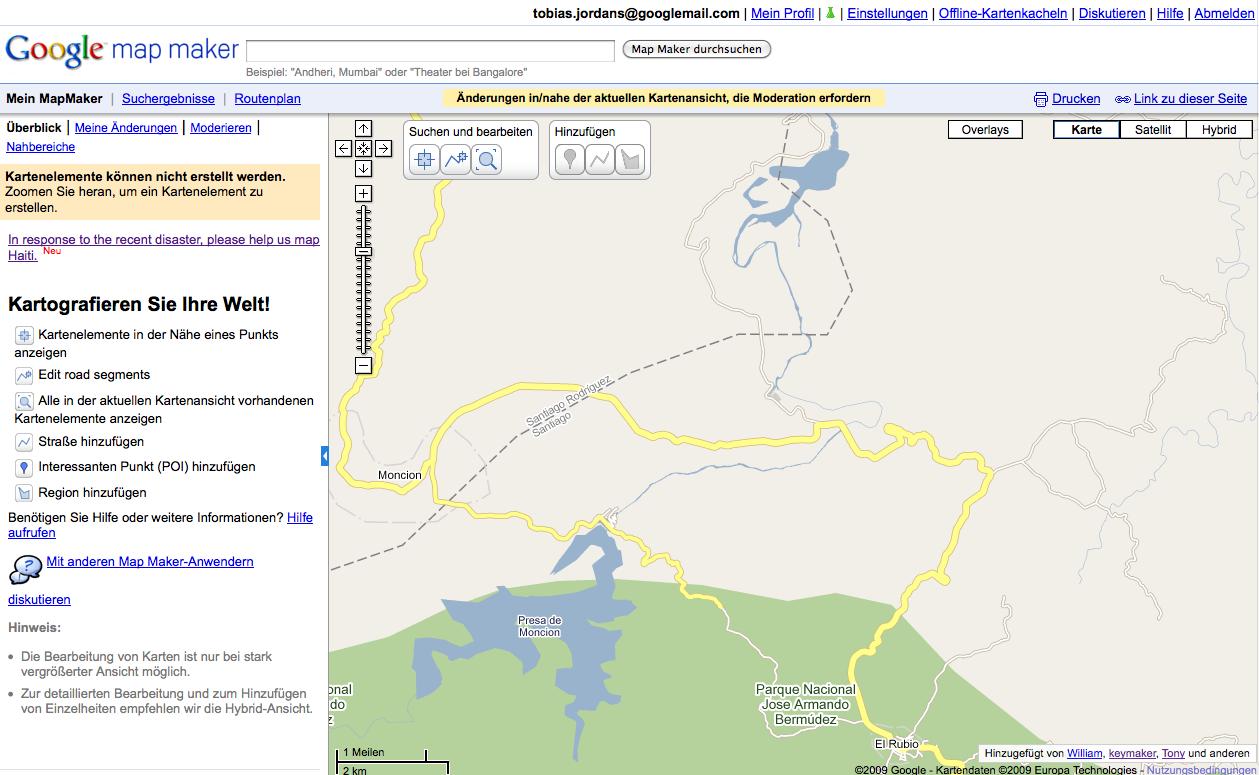 Karten editieren leicht gemacht: Google Map Maker jetzt auch in ...
