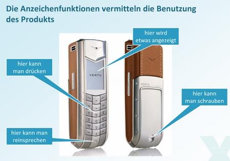 Handy Anzeigefunktion