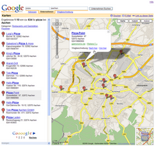 map google ac overview pizza treffer