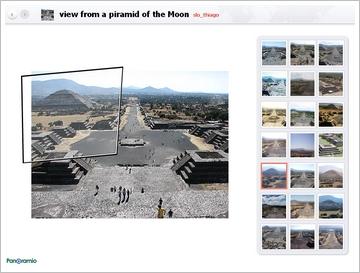 panoramio detailansicht mit zoom-funktion