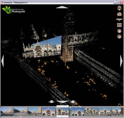 Navigate your photos in 3D